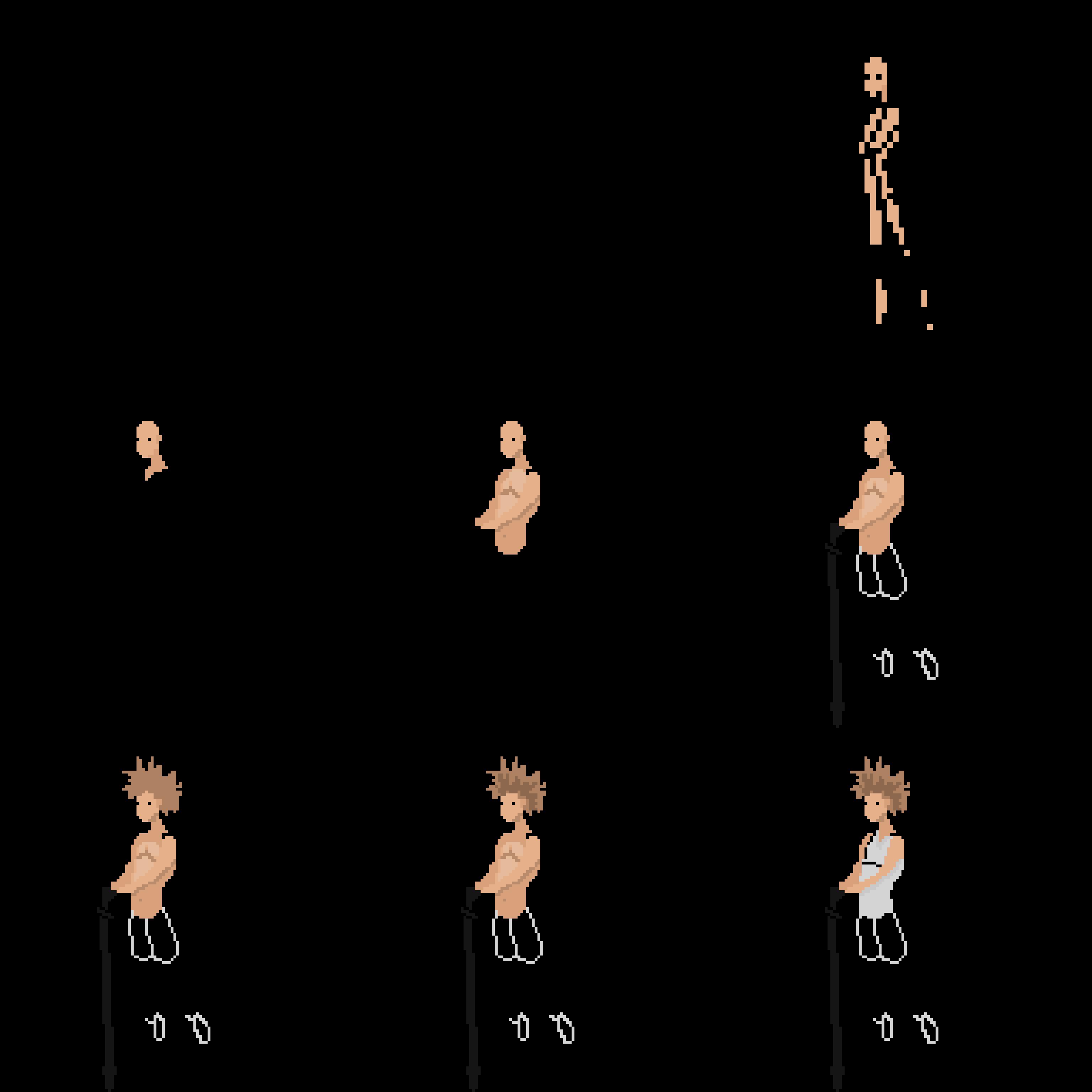 Pixel Art Character Tutorials Hyperpad Forum